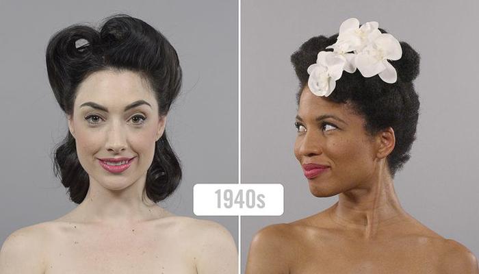 Transformação de Beleza das Décadas