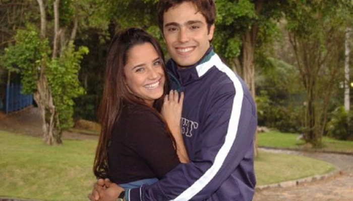 Fernanda Vasconcelos e Thiago Rodrigues