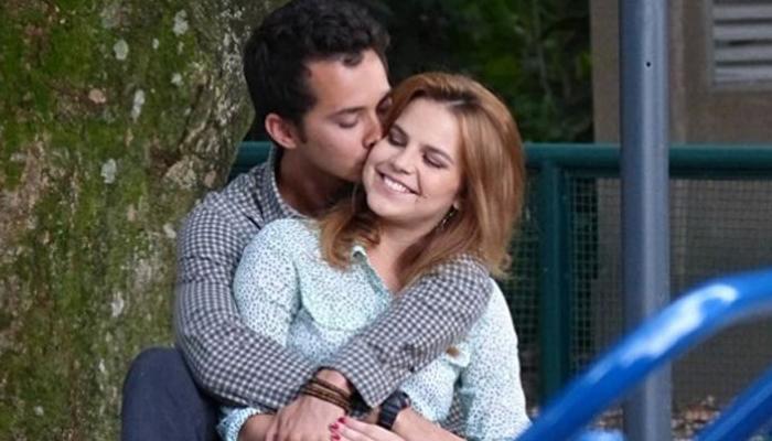 Bianca Salgueiro e Gabriel Falção