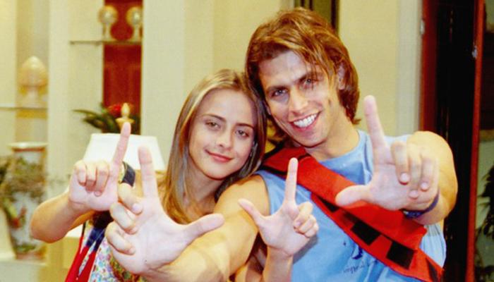 Juliana Silveira  e Henri Castelli