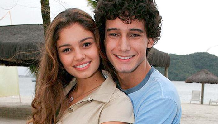 Sophia Charlotte e Caio Castro