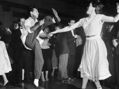 dançarinos dos anos 50