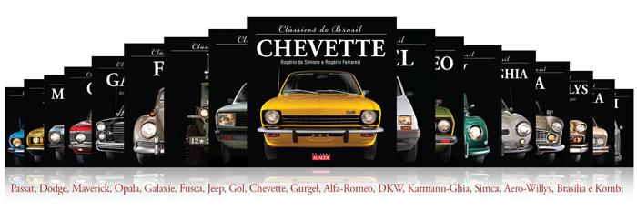 Livros de carros clássicos