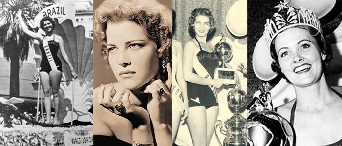 Miss Marta Rocha, em 1954