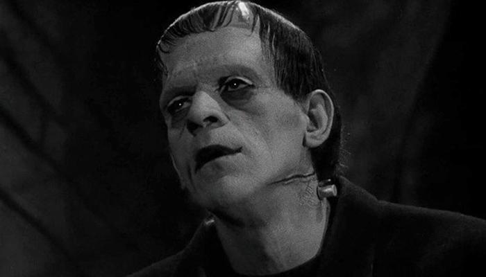 Cena do filme Frankenstein