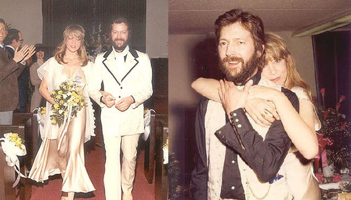 Pattie Boyd Eric Clapton Wedding