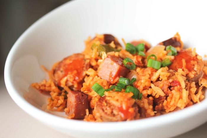 Jambalaya, um dos pratos típicos da culinária creole
