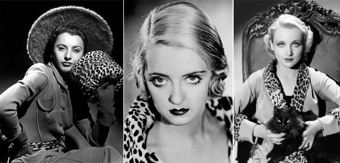 Barbara Stanwyck, Bette Davis e Carole Lombard
