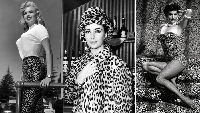 Jayne Mansfield, Elizabeth Taylor e Ava Gartner