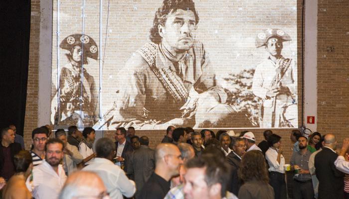 Evento da revitalização do espaço Vera Cruz