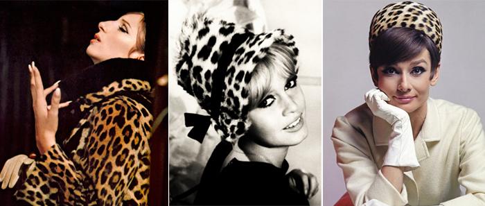 Barbra Streisand, Brigitte Bardot e Audrey Hepburn