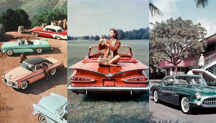 Carro anos 50