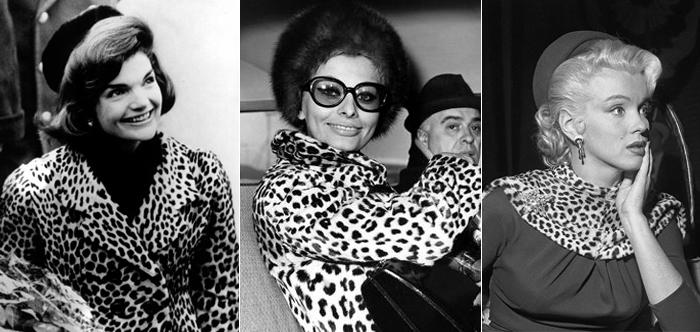 Jacqueline Kennedy, Sophia Loren e Marilyn Monroe