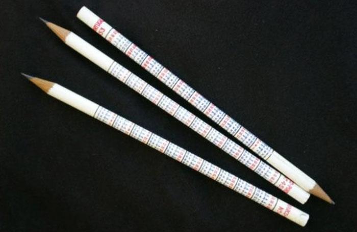 Lápis tabuada