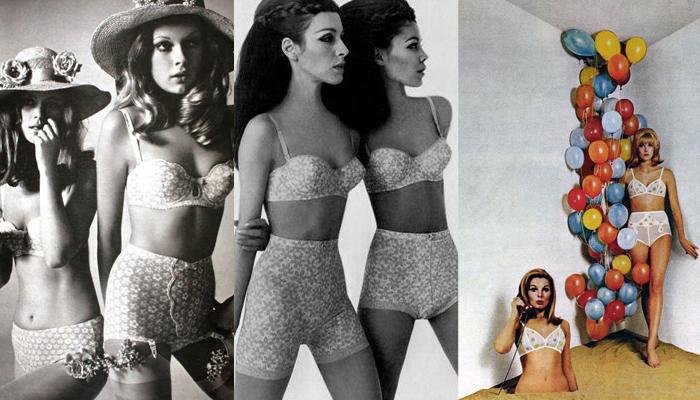 Lingerie anos 60