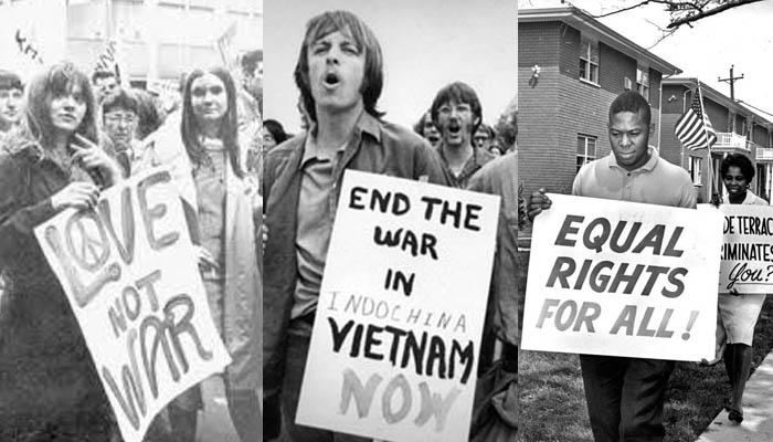 Movimentos anos 60
