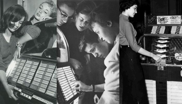 Jovens nos anos 50