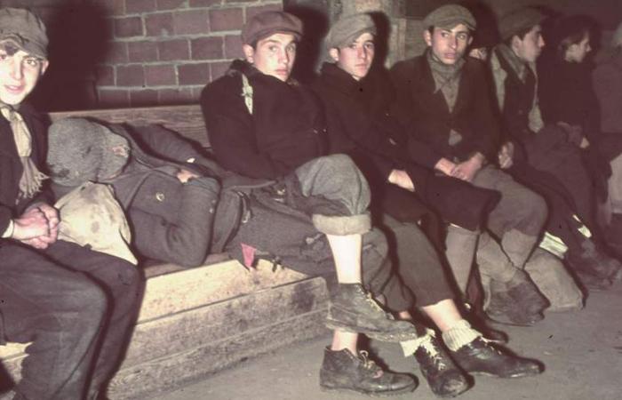 Refugiados poloneses, 1939.