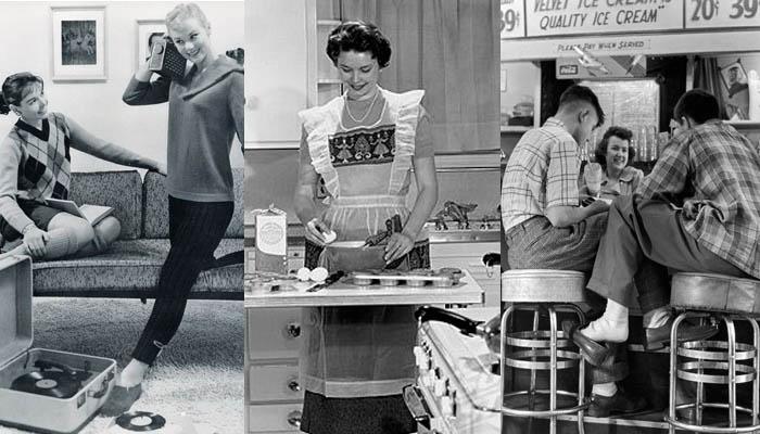 A vida nos anos 50