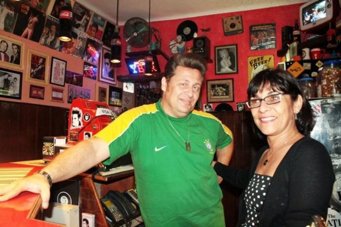 Eder e Lúcia, Shake Baby Bar (Reprodução)
