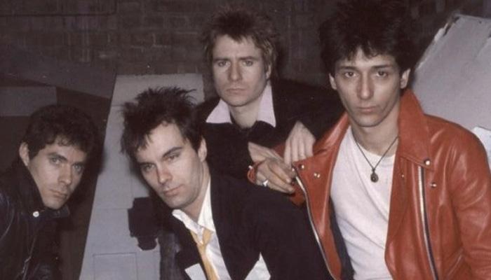 Integrantes da banda Johnny Thurnders &The Heartbreakers