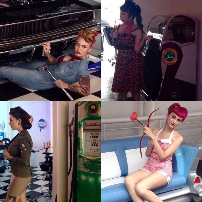Cherry Rat, Mari Kato, Marilia Skraba e Sarah Amethyst