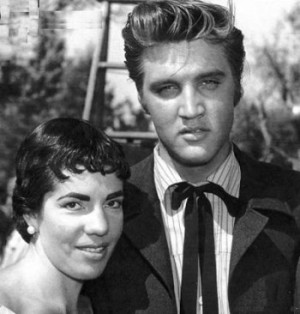 Elvis Presley e Dulce Damasceno de Brito