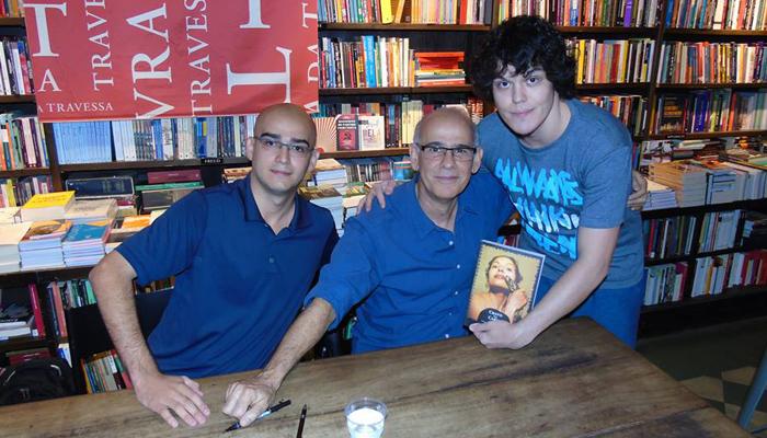 Da esq. para dir., Alberto de Oliveira e Alberto Camarero