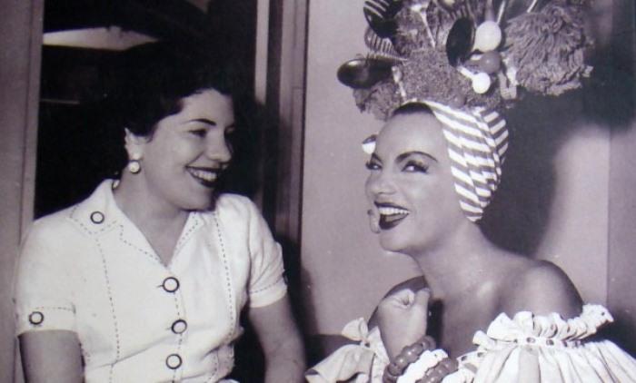 Dulce e Carmen Miranda