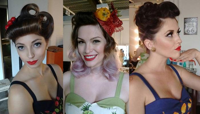 Make e Hair Pin-Up