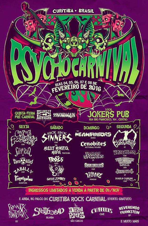 Flyer Psycho Carnival