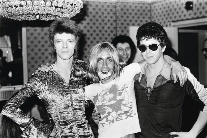 David Bowie, Iggy Pop e Lou Red