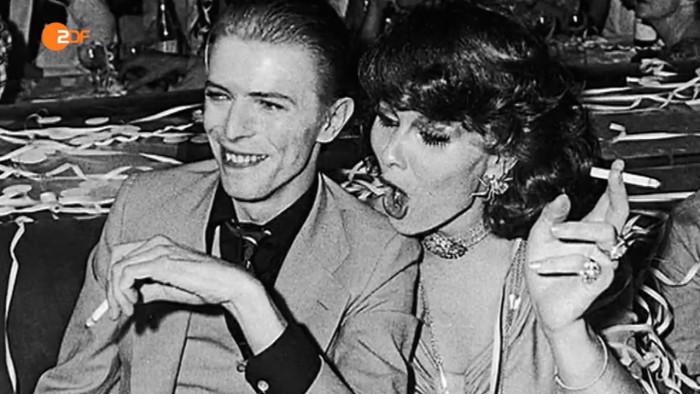 David Bowie e Romy Haag (Foto: Reprodução)
