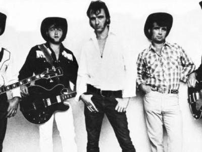 Crazy Cavan por volta de 1975 com Don Kinsella