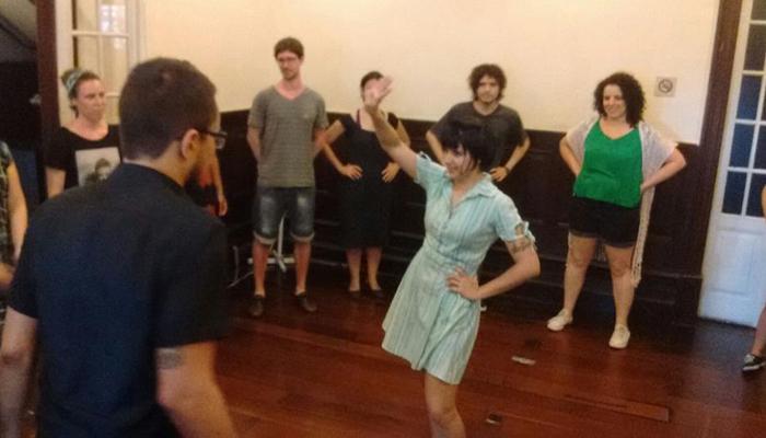Grupo de dança na 4º edição do Relicário