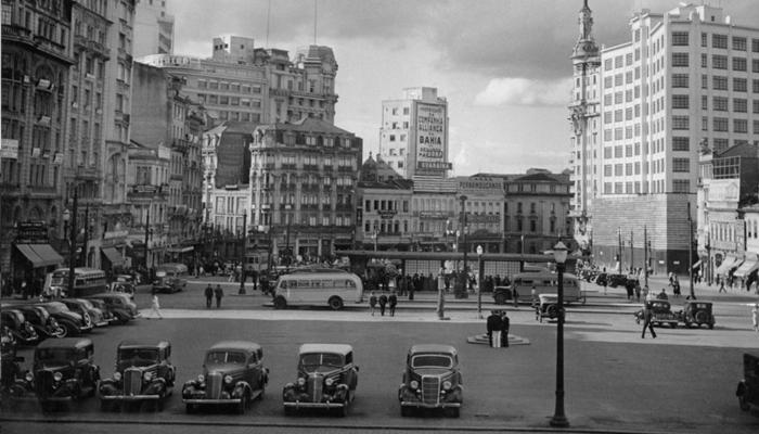 Praça da Sé, 1955.