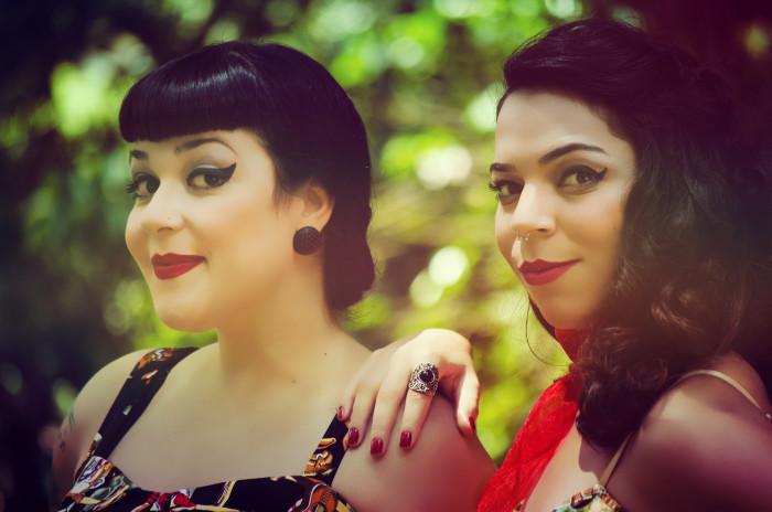 Mirella Fonzar e Daise Alves