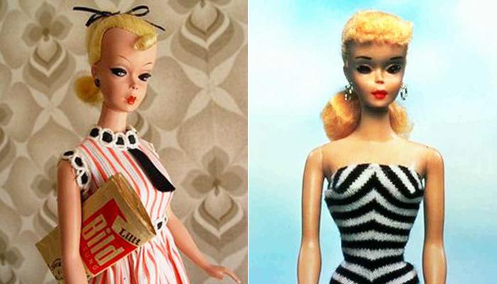 Lili à esquerda e Barbie à direita (Foto: Reprodução)