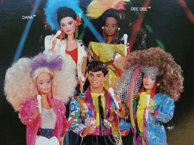 Coleção Barbie nos anos 80 (Foto: Reprodução)