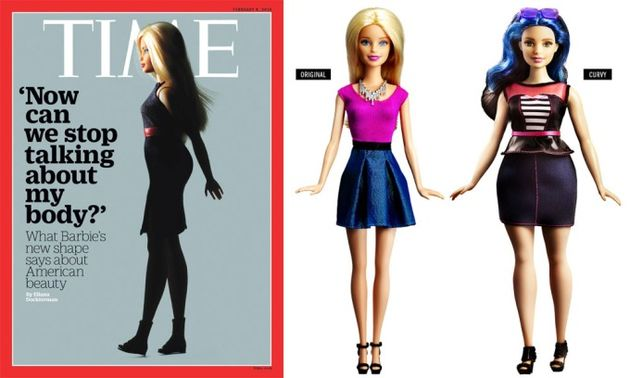 Barbie na revista Time