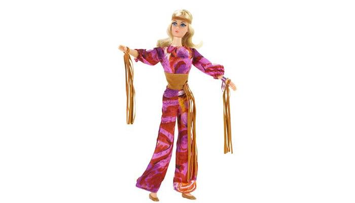 Barbie Hippie, modelo dos anos 70