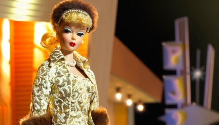 Um dos primeiros modelos de Barbie