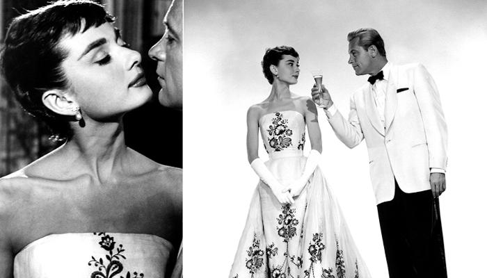 Audrey Hepburn em Sabrina, usando Givenchy, 1954 (Foto: Repodução)