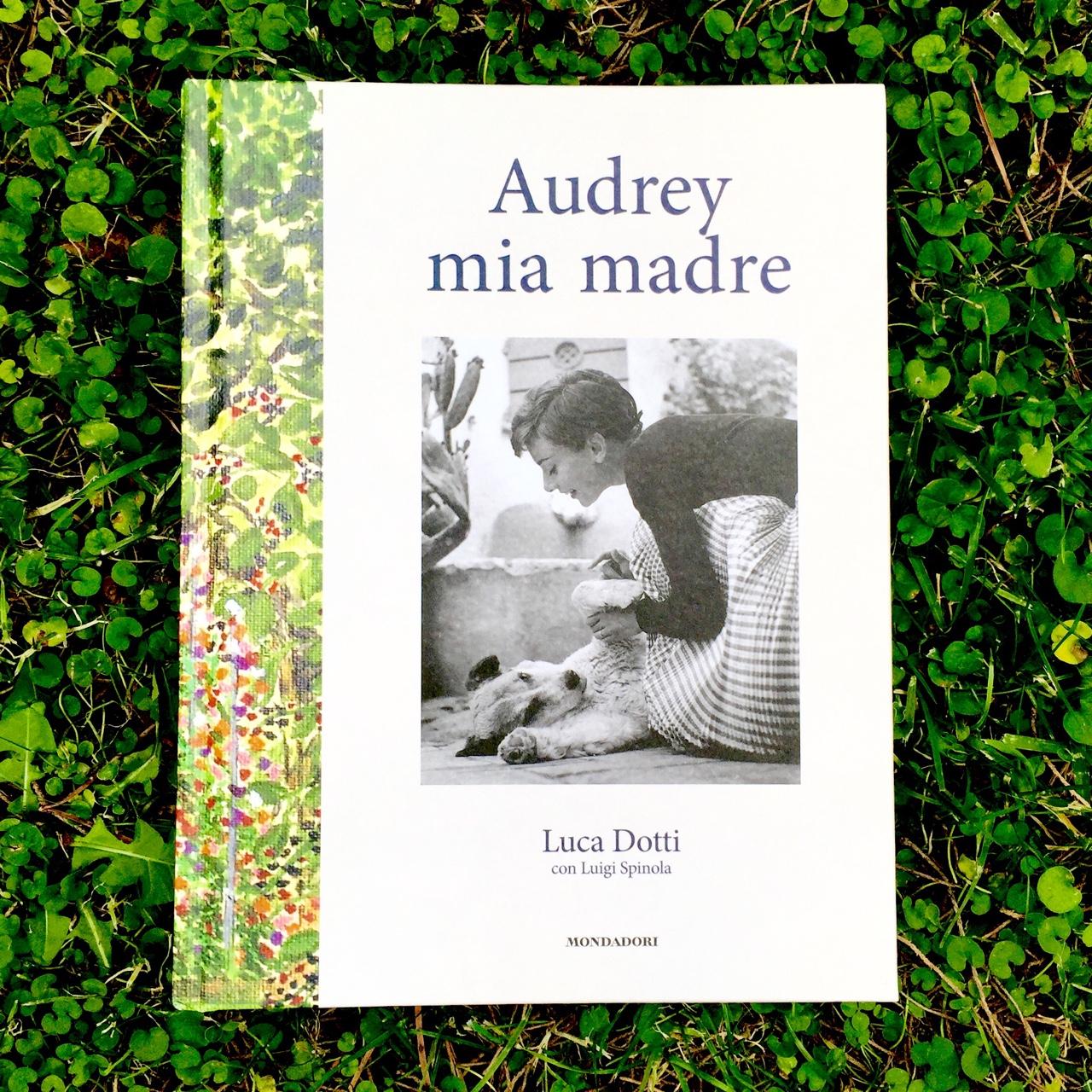 "Livro ""Audrey mia madre"""
