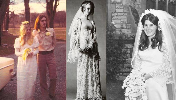 Noivas da década de 1970