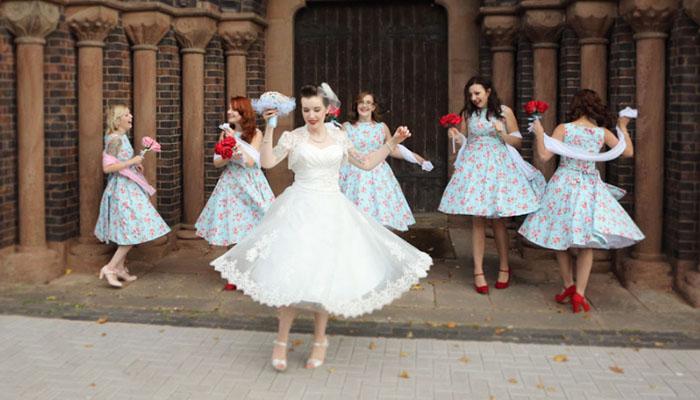 Vestidos de noiva retrô