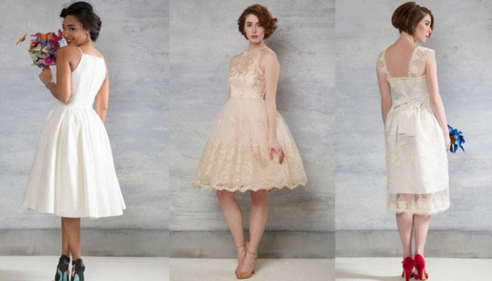 Vestidos de Noiva Retrô da ModCloth