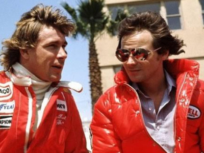 Niki Lauda e James Hunt
