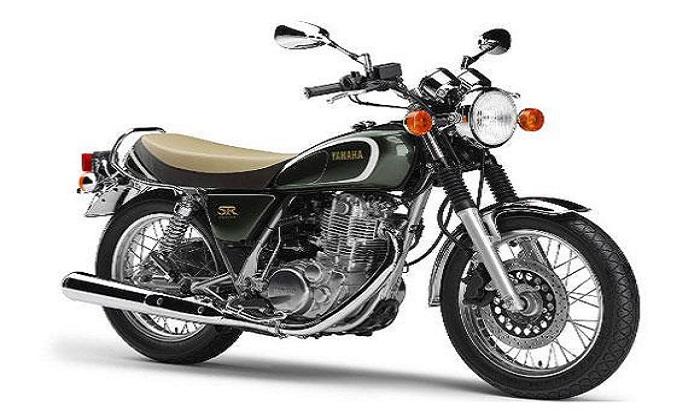 Yamaha SR 400 (Foto: Divulgação)