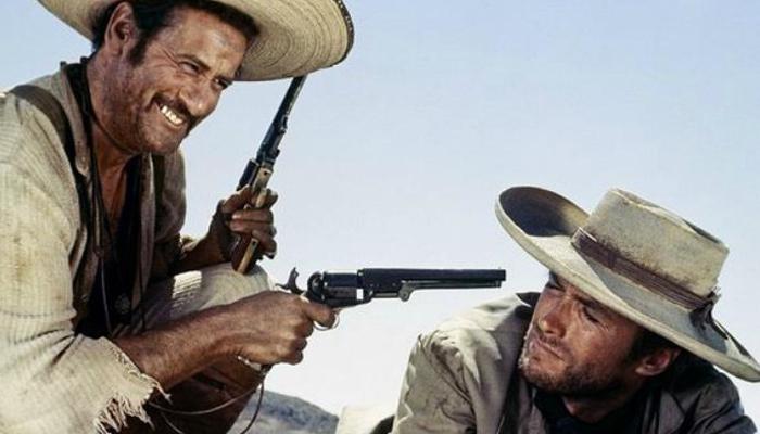 Eli Wallach e Clint Eastwood